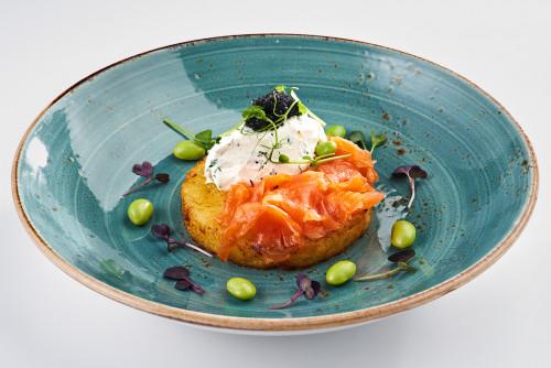 Dranik with salmon