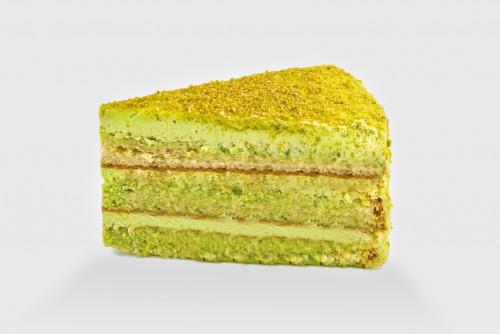Фисташковый торт (порция)